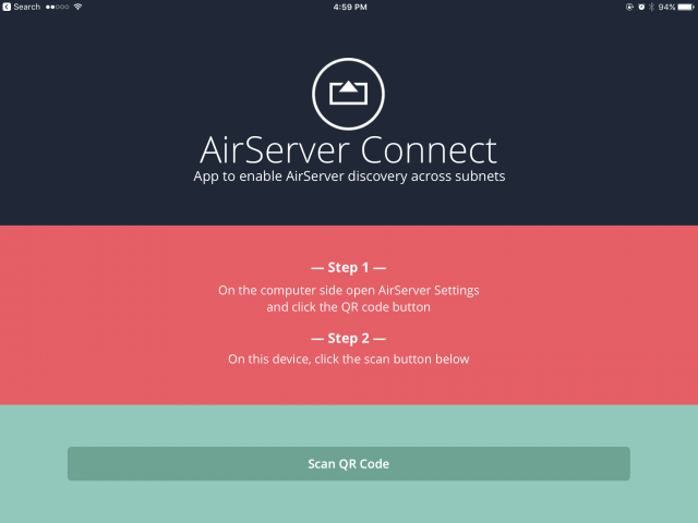 record your smartphone Airserver 1