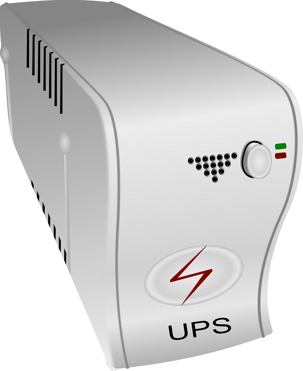 set up an IP camera UPS