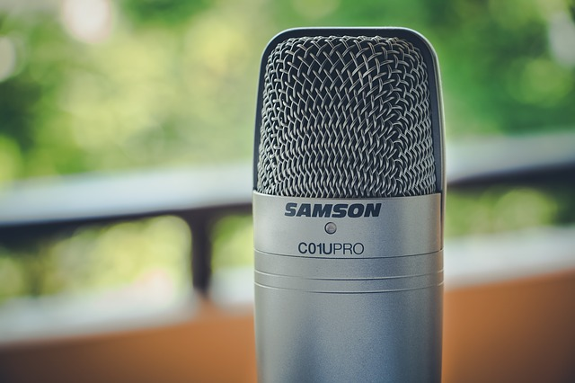 Make Video Voiceovers mic