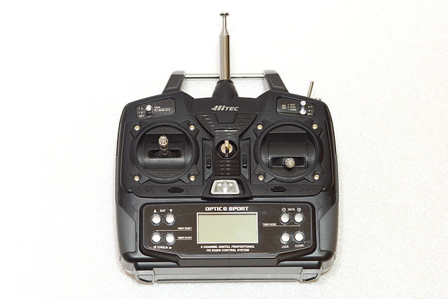 fly a quadcopter controls