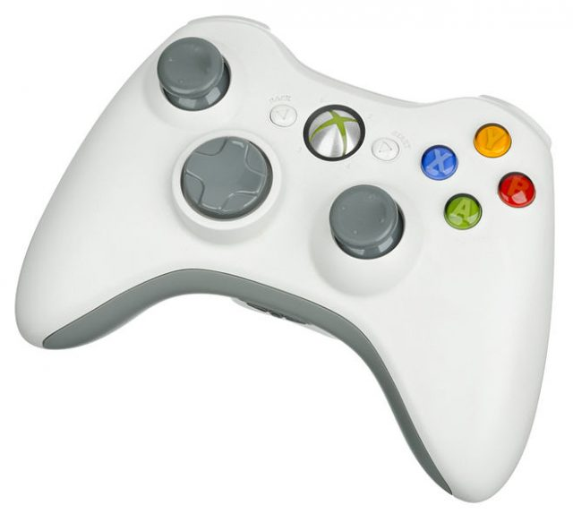 console controller on a PC X360