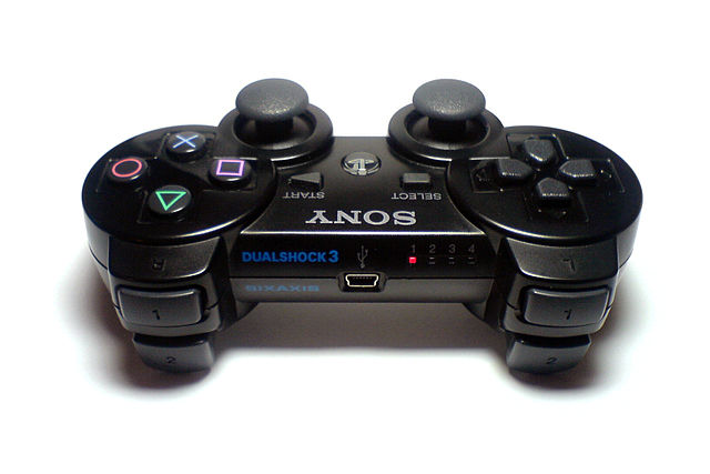 console controller on a PC DS3