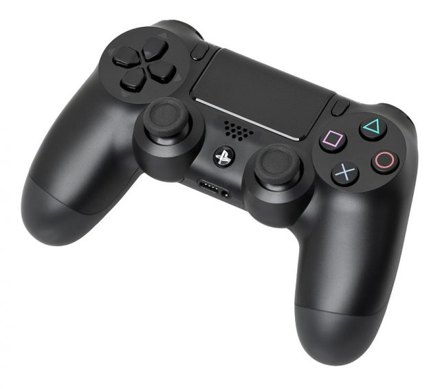 console controller on a PC DS4