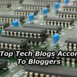 Top Tech Blogs According To Bloggers