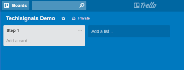 manage work projects with trello