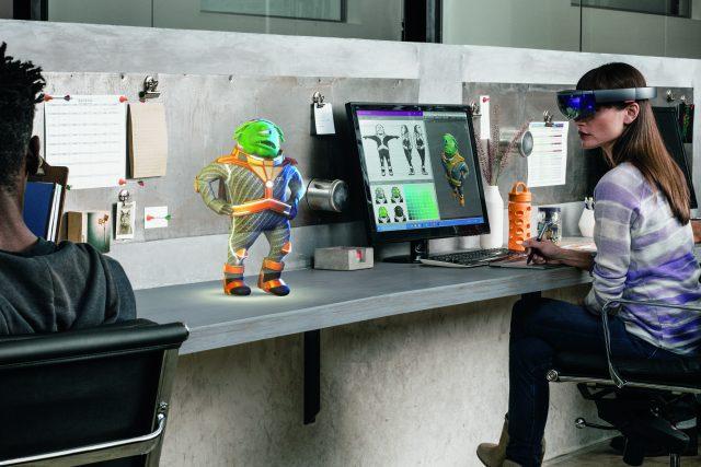 Microsoft Hololens AR