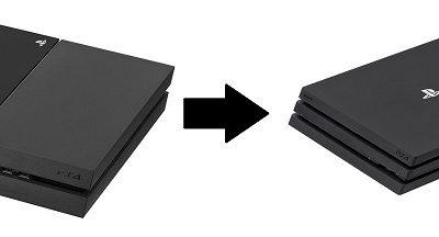 PS4 Pro Upgrade