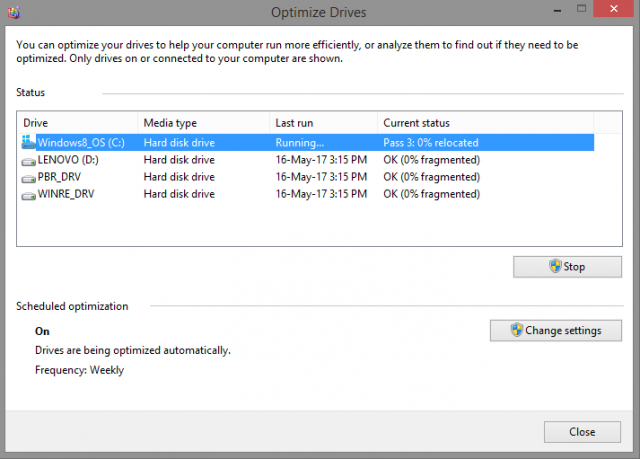 Defragmenting your drives can help make your pc faster Speed up a Windows PC