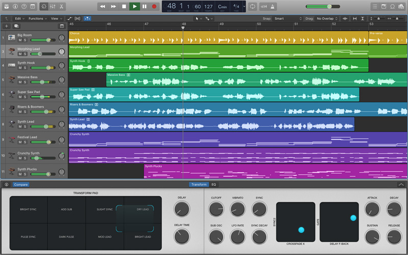 Logic Pro X Music Production Software