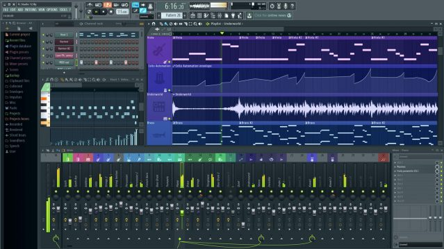 FL Studio 12 music production software
