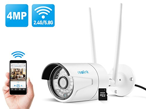 Reolink 4MP Super HD 2.4/5Ghz Dual Band Wi-Fi Wireless Security IP Camera Review