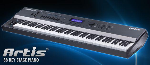 Kurzweil ARTIS 88-Key Stage Digital Piano Review