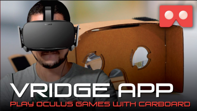 Play Oculus Games with Cardboard