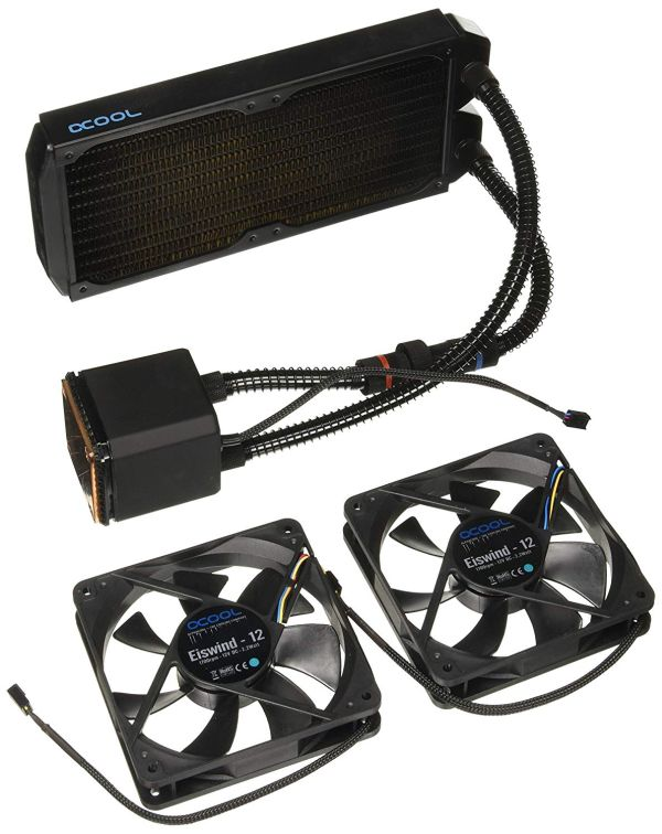 Alphacool Eisbaer AIO CPU Cooler with 240mm Radiator best liquid CPU cooler
