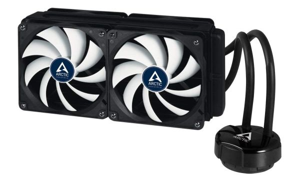 ARCTIC Liquid Freezer 240, High Performance CPU Water Cooler with Four 120 mm Low Noise Fans, 240 x 120 mm Radiator best liquid CPU cooler