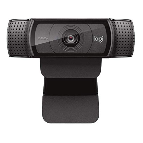 Logitech HD Pro WebcamC920-best webcam for streaming